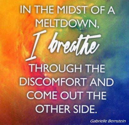 I Breathe Through Discomfort