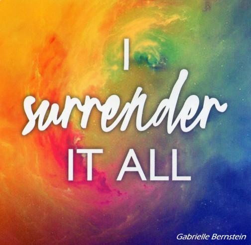 I Surrender It All