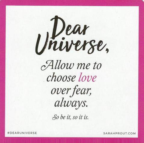 Love Over Fear