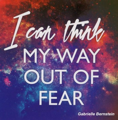 My Way Out Of Fear