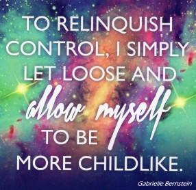 To Relinquish Control