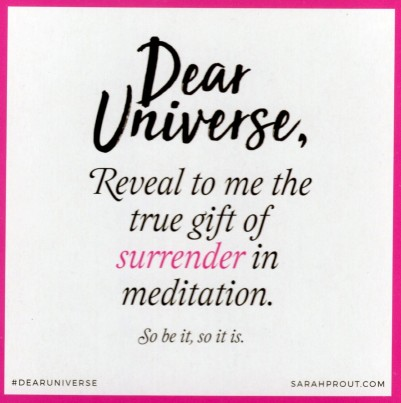 20 - Surrender In Meditation