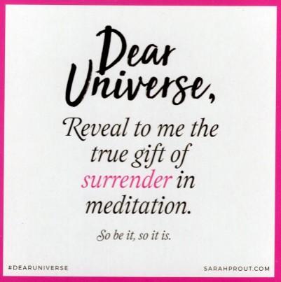 20 - Surrender In Meditation