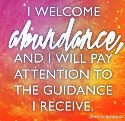 30 - I Welcome Abundance